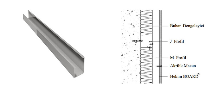Yapısal Çelik M Profil - J Profil
