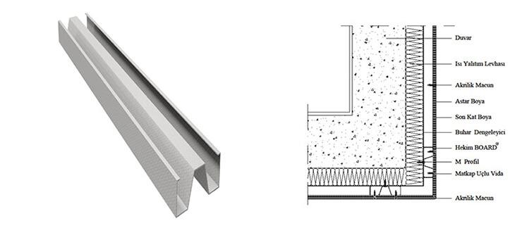 Yapısal Çelik M Profil - M Profil