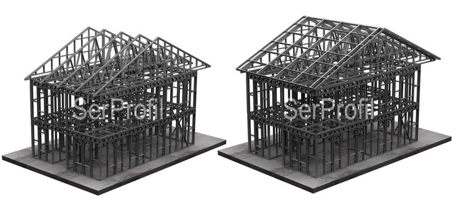 Hafif Çelik Yapı Profilleri