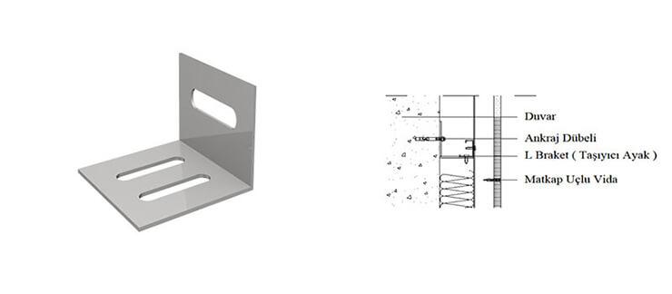 Yapısal Çelik M Profil - L Ankraj Profil