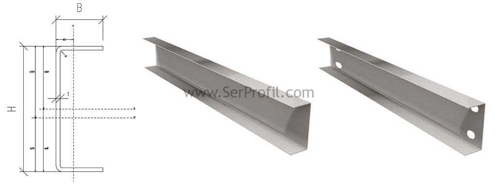 Yapısal Çelik U Profil