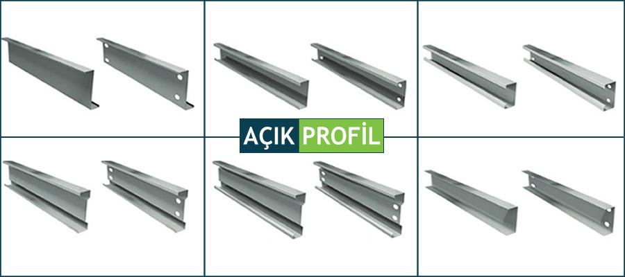 Hafif Çelik Yapı Profilleri Roll Form Üretim Hattı U C Z Profil Fiyatları