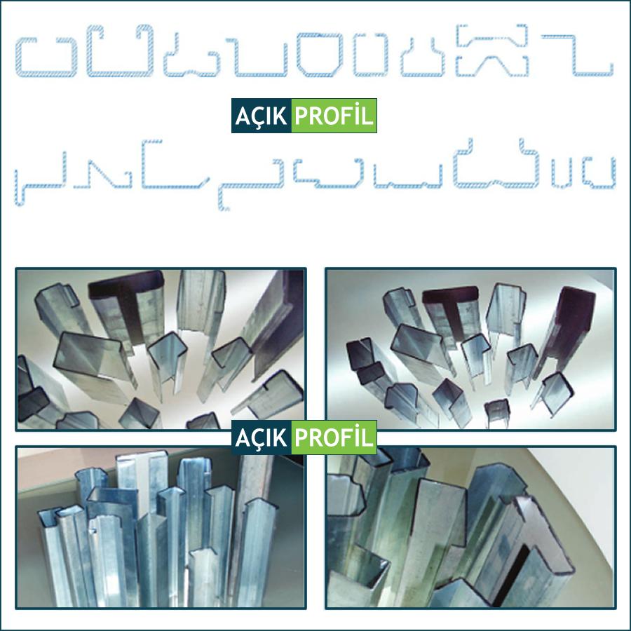 Galvanizli Hafif Çelik C Plus Profil İzmir Firması ve Fiyatları